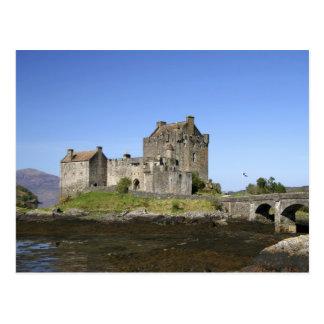 Eilean Donan Castle, Scotland. The famous Eilean 3 Post Cards