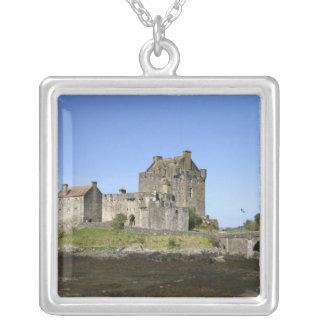 Eilean Donan Castle, Scotland. The famous Eilean 3 Silver Plated Necklace