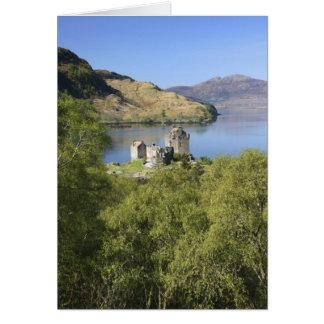 Eilean Donan Castle, Scotland. The famous Eilean Card