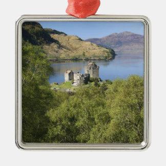 Eilean Donan Castle, Scotland. The famous Eilean Christmas Ornament