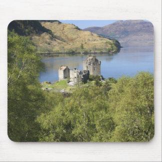 Eilean Donan Castle, Scotland. The famous Eilean Mouse Mat