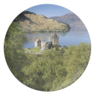 Eilean Donan Castle, Scotland. The famous Eilean Party Plates