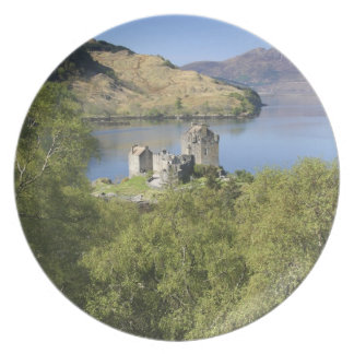 Eilean Donan Castle, Scotland. The famous Eilean Plates