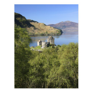 Eilean Donan Castle, Scotland. The famous Eilean Post Card