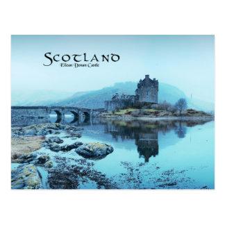 Eilean Donan Castle w/ text Postcard