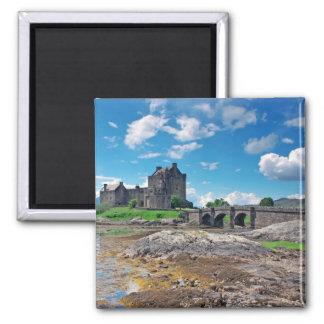 Eilean Donan square Magnets