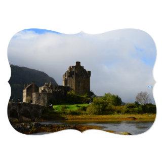 Eileen Donan Castle in Early Autumn 13 Cm X 18 Cm Invitation Card