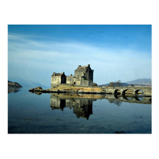 Eileen Donan Castle, Kyle of Lochalsh, Scotland Postcard