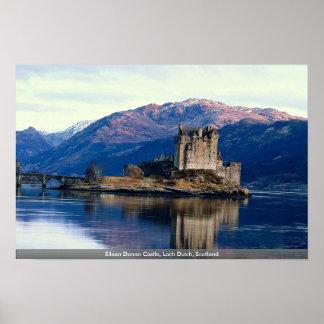 Eileen Donan Castle, Loch Duich, Scotland Poster