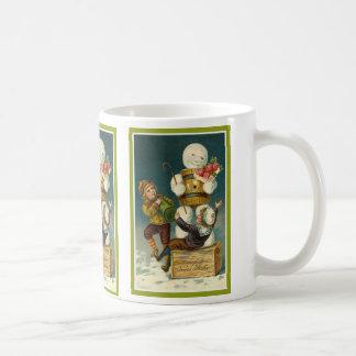 Ein Frohes Neues Jahr Vintage Basic White Mug