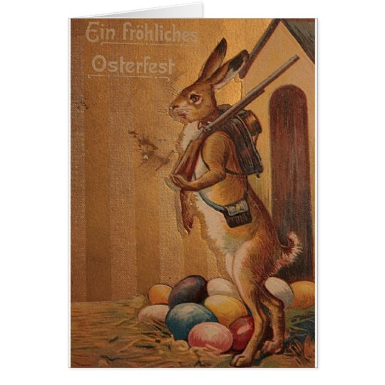 Ein Frohliches Osterfest! Vintage German Easter Card