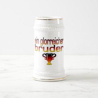 Ein Glorreicher Bruder Germany Flag Colors Beer Stein