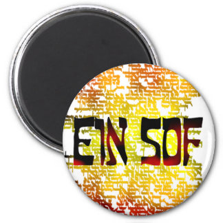Ein Sof 6 Cm Round Magnet