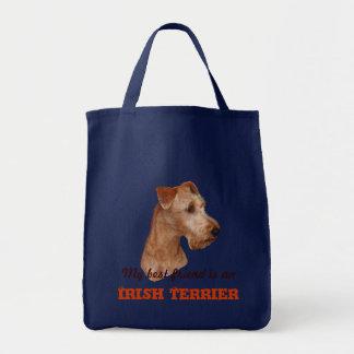 """Einkaufstasche """"Irish Terrier"""" Tote Bag"""
