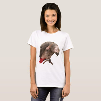 Einstein Parrot Waving T-Shirt