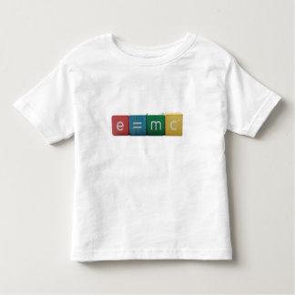 Einstein's formula toddler shirt