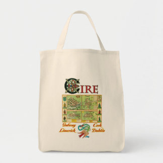 Eire Cities Tote Bag