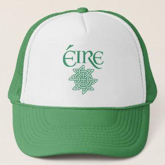 Éire Decorative Celtic Knot Pattern Irish Trucker Hat