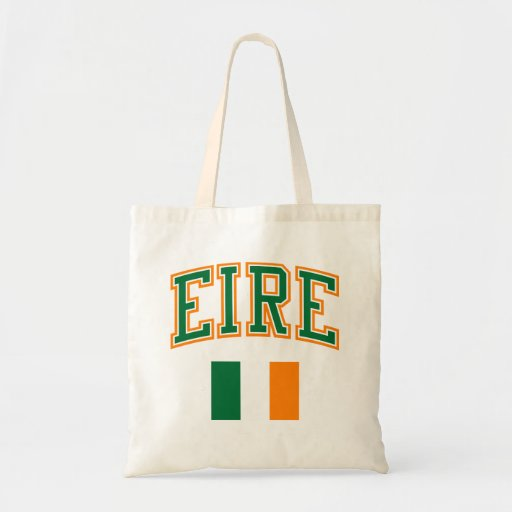 EIRE + Flag Canvas Bag
