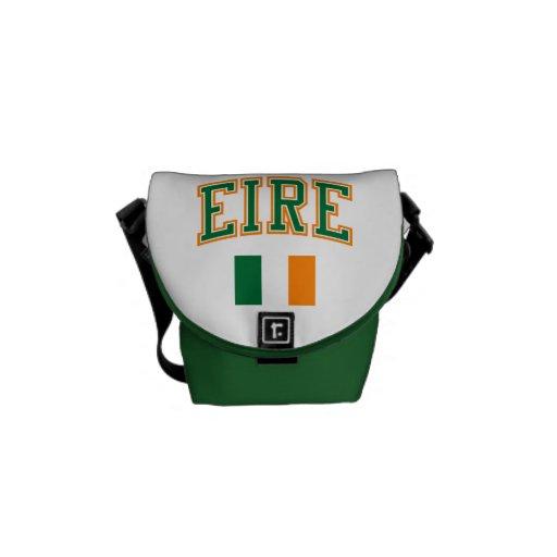 EIRE + Flag Messenger Bags
