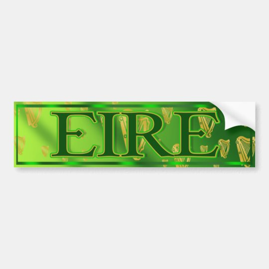 Eire ireland irish bumper sticker