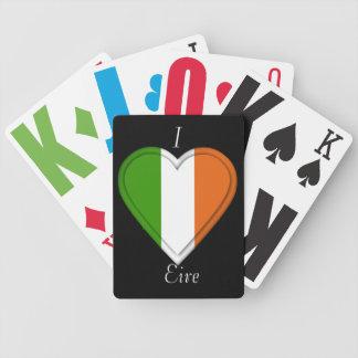 Eire Ireland Irish flag Bicycle Playing Cards