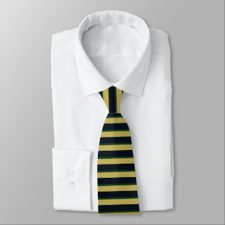 Eire of Dame Erin Horizontally-Striped Tie