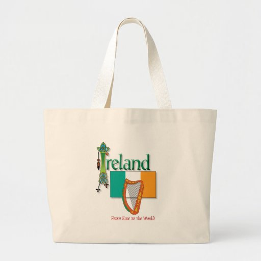 Eire To The World Canvas Bag