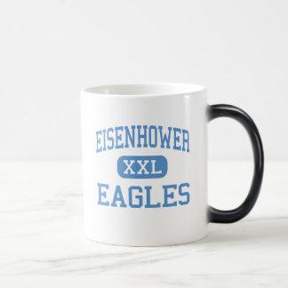 Eisenhower - Eagles - High - Lawton Oklahoma Morphing Mug