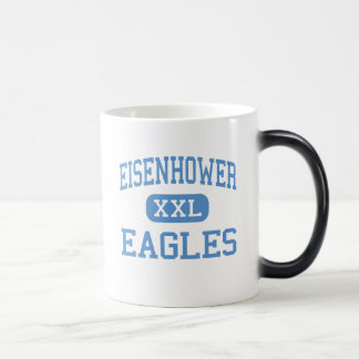 Eisenhower - Eagles - High - Lawton Oklahoma 11 Oz Magic Heat Color-Changing Coffee Mug