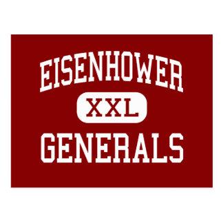Eisenhower - Generals - Junior - Darien Illinois Postcard