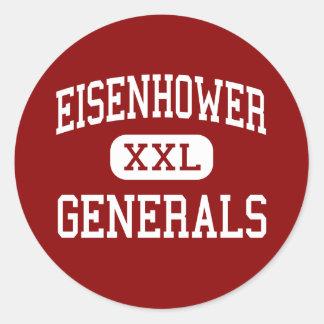 Eisenhower - Generals - Junior - Darien Illinois Stickers