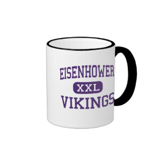Eisenhower - Vikings - Junior - Lawton Oklahoma Ringer Coffee Mug