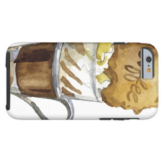 Eiskaffee Iced Coffee Drink iPhone 6 Case - Tough Tough iPhone 6 Case