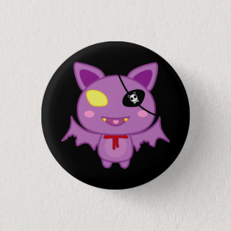 Eitel the Bat 3 Cm Round Badge