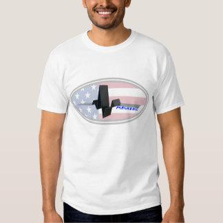 EKG Paramedic USA T Shirt