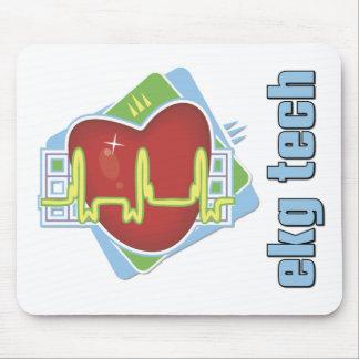 EKG Tech Mousepads