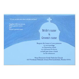 Ekklisia 13 Cm X 18 Cm Invitation Card