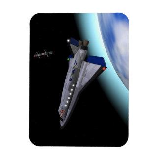 El Al Maslool Space Shuttle Rectangular Photo Magnet