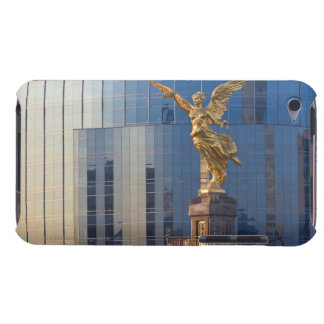 El Angel and Independence Monument and offices iPod Case-Mate Case