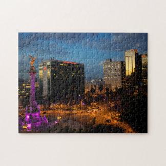 El Angel De Independencia, Mexican Landmark Jigsaw Puzzle