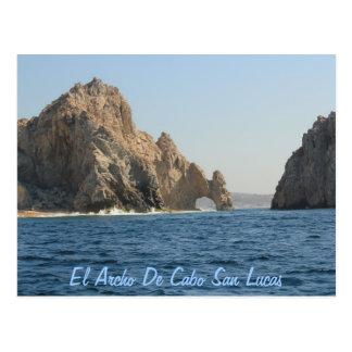 El Archo De Cabo San Lucas Postcard