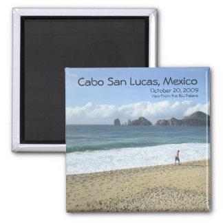 El Arco de Cabo San Lucas, Mexico (The Arch) Square Magnet