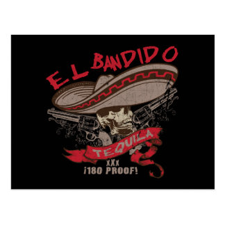 El Bandido Tequila Postcard