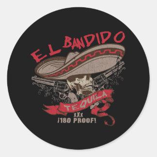 El Bandido Tequila Sticker