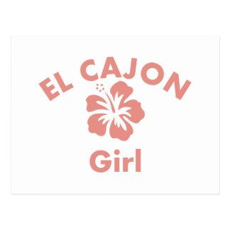 El Cajon Pink Girl Postcards