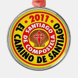 El Camino de Santiago 2011 Christmas Ornament