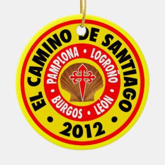 El Camino de Santiago 2012 Christmas Ornament