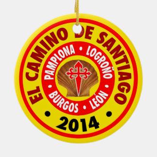 El Camino De Santiago 2014 Christmas Ornament