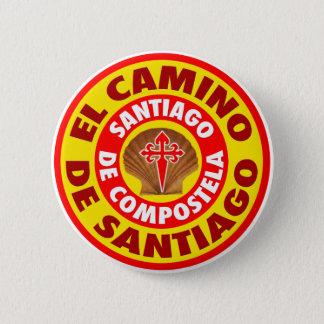El Camino de Santiago 6 Cm Round Badge